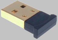 Bluetooth USB 2.0 Adapter Cyber Class2,  20 метров, мини