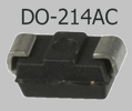 RS1G  (400V;1A;DO-214AC) smd